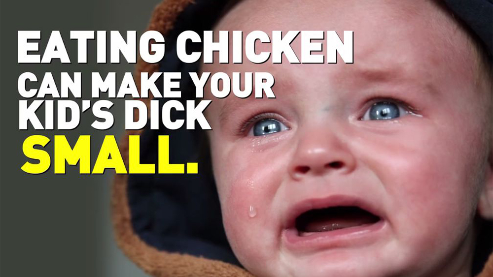 PETA, Eating Chicken, Small Dick
