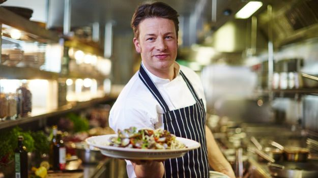 celebrity chef jamie oliver reveals twenty scruffy looking vegan